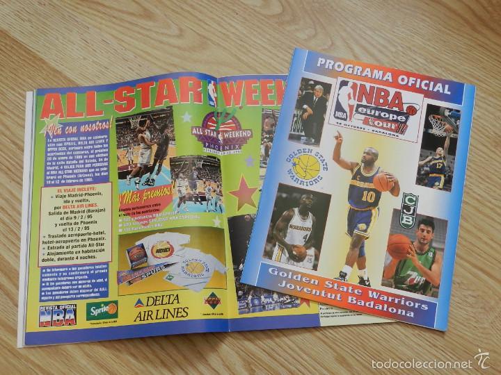 Coleccionismo deportivo: REVISTA OFICIAL NBA Nº 33 AÑO 1994 BALONCESTO BASKET Europe tour 94 Olajuwon EXTRA suplemento nº33 - Foto 4 - 57864623