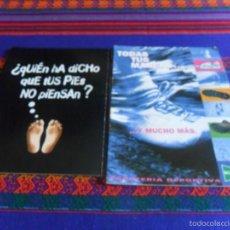 Coleccionismo deportivo: 2 CATÁLOGO ZAPATERÍA DEPORTIVA EL CORTE INGLÉS 1996 RUNNING PRÓLOGO COLOMÁN TRABADO. NIKE ADIDAS..... Lote 57906773