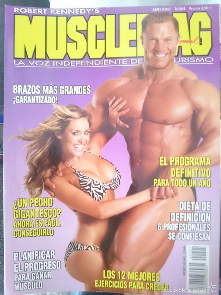 MUSCLEMAG - N 201 -REFM1E3 (Coleccionismo Deportivo - Revistas y Periódicos - otros Deportes)