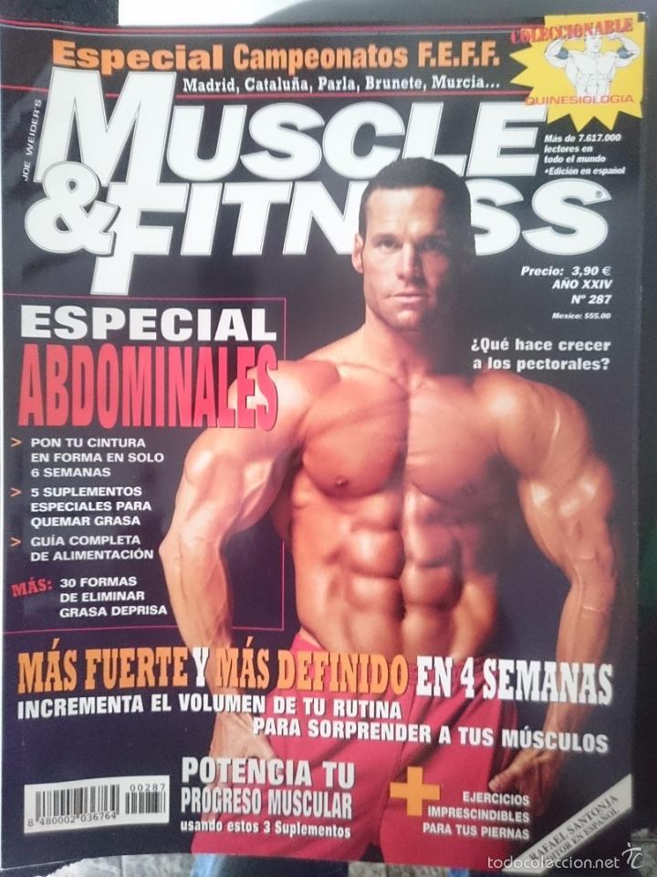 MUSCLE AND FITNESS - N 287 -REFM1E3 (Coleccionismo Deportivo - Revistas y Periódicos - otros Deportes)