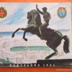 Coleccionismo deportivo: PROGRAMA DE LOS BARCELONA 1955 II JUEGOS DEL MEDITERRANEO. Lote 58066520