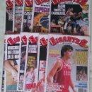 Coleccionismo deportivo: REVISTA GIGANTES DEL BASKET. LOTE DE 11 NUMEROS. AÑO 1989. CON POSTERS.. Lote 58204186