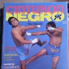 dbb1d99bfb3 CINTURÓN NEGRO - AÑO 1 Nº 4 - CHUCK NORRIS · Coleccionismo Deportivo -  Revistas ...