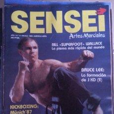 Coleccionismo deportivo: SENSEI - AÑO 1 N 2 - BILL WALLACE BRUCE LEE. Lote 58343609