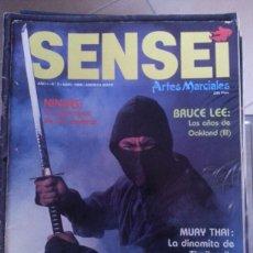 Coleccionismo deportivo: SENSEI - AÑO 1 N 3 - NINJAS BRUCE LEE. Lote 58343747