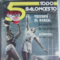 Coleccionismo deportivo: REVISTA Nº14 5 TODO BALONCESTO.TODOBALONCESTO. NOVIEMBRE 1979. Lote 58374909