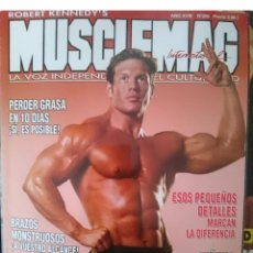 Coleccionismo deportivo: REVISTA DE CULTURISMO - MUSCLEMAG N 205 -VER FOTOS --REFM1E5. Lote 143231881