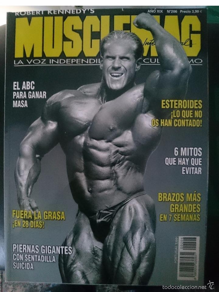 MUSCLEMAG N 206 - JAY CUTLER EN PORTADA -VER FOTOS --REFM1E5 (Coleccionismo Deportivo - Revistas y Periódicos - otros Deportes)