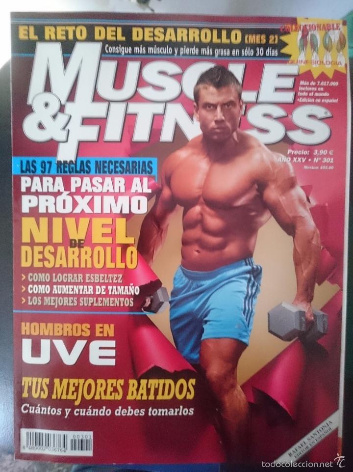 MUSCLE AND FITNESS - JOE WEIDER´S - N 301 -VER FOTOS --REFM1E5 (Coleccionismo Deportivo - Revistas y Periódicos - otros Deportes)