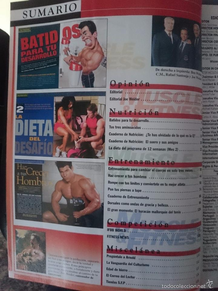 Coleccionismo deportivo: MUSCLE AND FITNESS - JOE WEIDER´S - N 301 -VER FOTOS --RefM1E5 - Foto 2 - 58416043