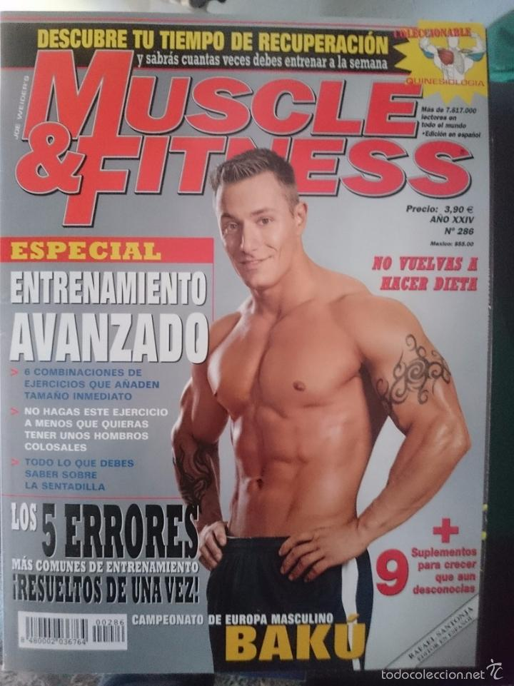MUSCLE AND FITNESS - JOE WEIDER´S - N 286 -VER FOTOS --REFM1E5 (Coleccionismo Deportivo - Revistas y Periódicos - otros Deportes)