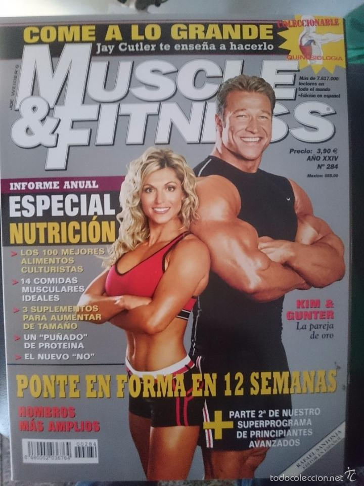 Coleccionismo deportivo: MUSCLE AND FITNESS - JOE WEIDER´S - N 284 -VER FOTOS --RefM1E5 - Foto 1 - 58416051