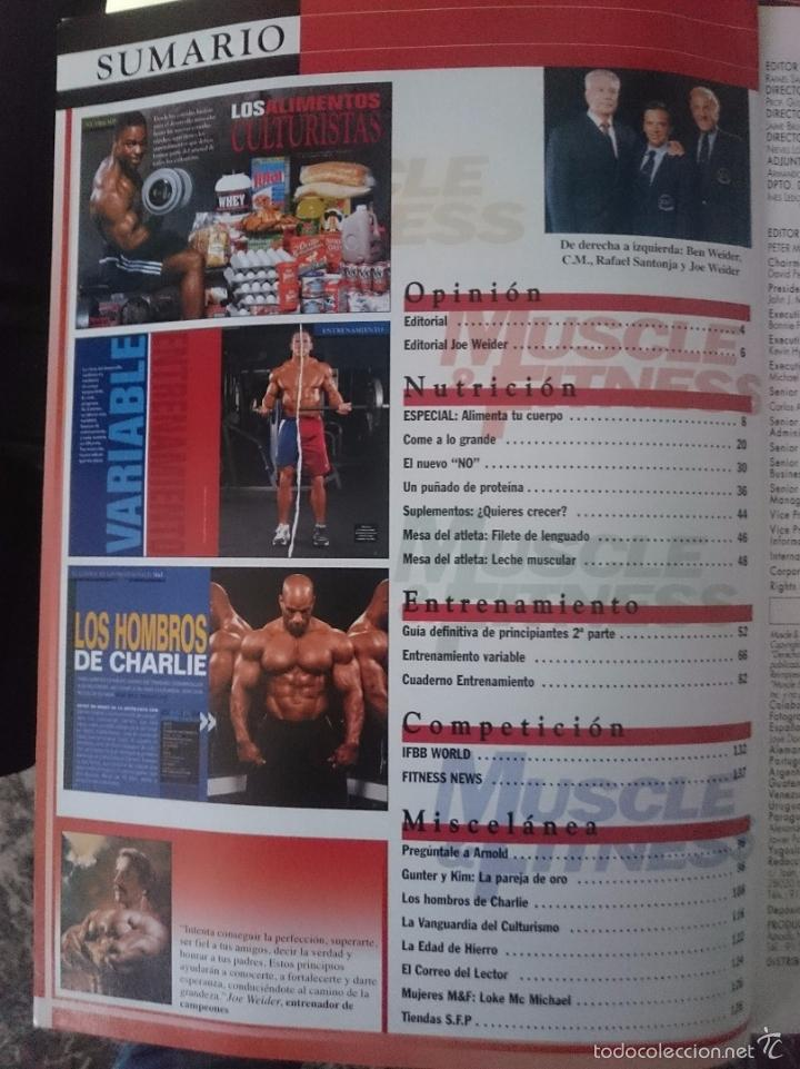 Coleccionismo deportivo: MUSCLE AND FITNESS - JOE WEIDER´S - N 284 -VER FOTOS --RefM1E5 - Foto 2 - 58416051