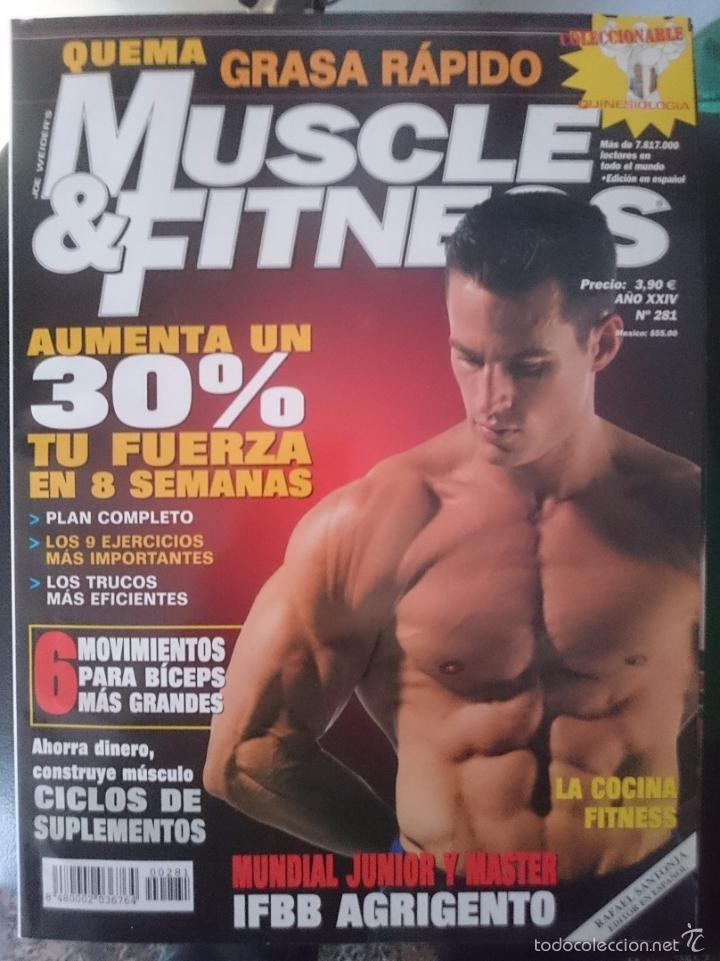 MUSCLE AND FITNESS - JOE WEIDER´S - N 281 -VER FOTOS --REFM1E5 (Coleccionismo Deportivo - Revistas y Periódicos - otros Deportes)