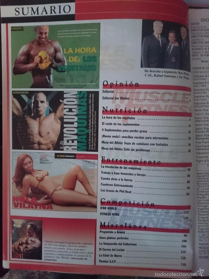 Coleccionismo deportivo: MUSCLE AND FITNESS - JOE WEIDER´S - N 281 -VER FOTOS --RefM1E5 - Foto 2 - 58416053