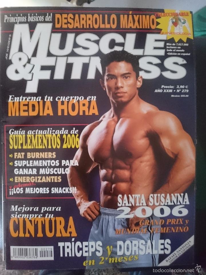 MUSCLE AND FITNESS - JOE WEIDER´S - N 279 -VER FOTOS --REFM1E5 (Coleccionismo Deportivo - Revistas y Periódicos - otros Deportes)