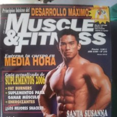 Coleccionismo deportivo: MUSCLE AND FITNESS - JOE WEIDER´S - N 279 -VER FOTOS --REFM1E5. Lote 58416056