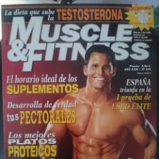 Coleccionismo deportivo: MUSCLE AND FITNESS - JOE WEIDER´´S - N 276 -VER FOTOS --REFM1E5. Lote 58416061