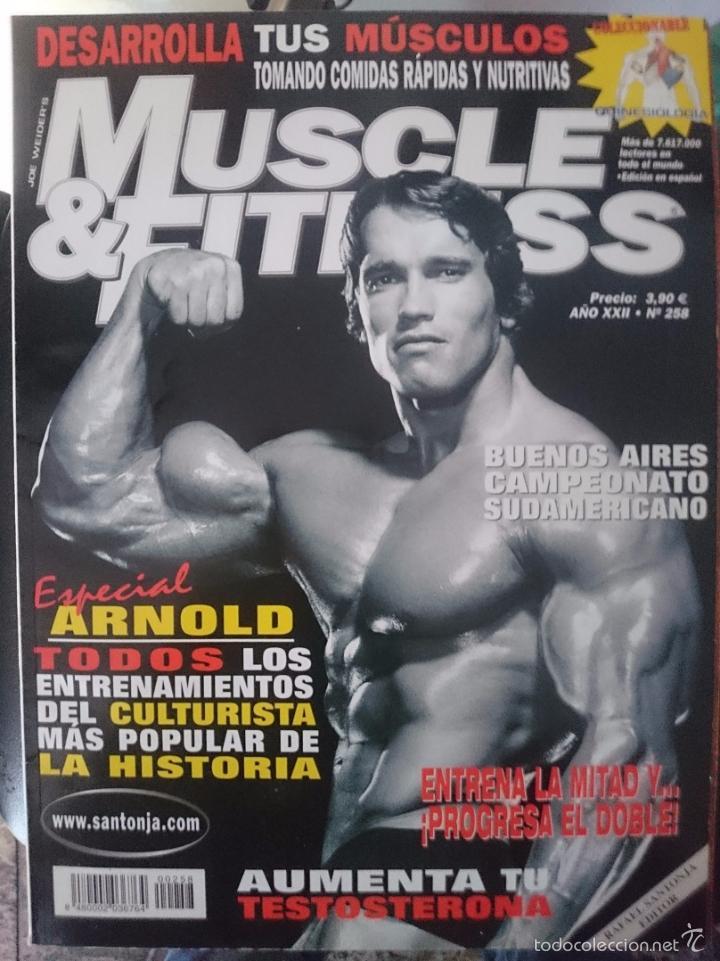 MUSCLE AND FITNESS - JOE WEIDER´S - N 258 -ESPECIAL ARNOLD SCHWARZENEGGER -VER FOTOS --REFM1E5 (Coleccionismo Deportivo - Revistas y Periódicos - otros Deportes)