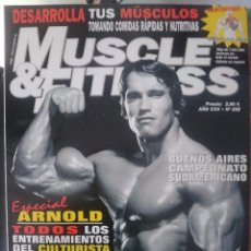 Coleccionismo deportivo: MUSCLE AND FITNESS - JOE WEIDER´S - N 258 -ESPECIAL ARNOLD SCHWARZENEGGER -VER FOTOS --REFM1E5. Lote 58416065