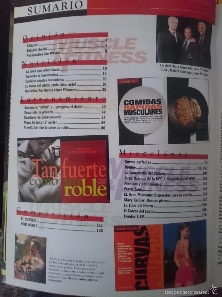Coleccionismo deportivo: MUSCLE AND FITNESS - JOE WEIDER´S - N 258 -ESPECIAL Arnold Schwarzenegger -VER FOTOS --RefM1E5 - Foto 2 - 58416065