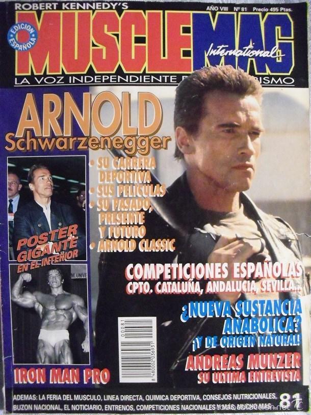 9e030af2fc2 REVISTA   MUSCLEMAG   - ESPECIAL ARNOLD SCHWARZENEGGER (1996) (Coleccionismo  Deportivo