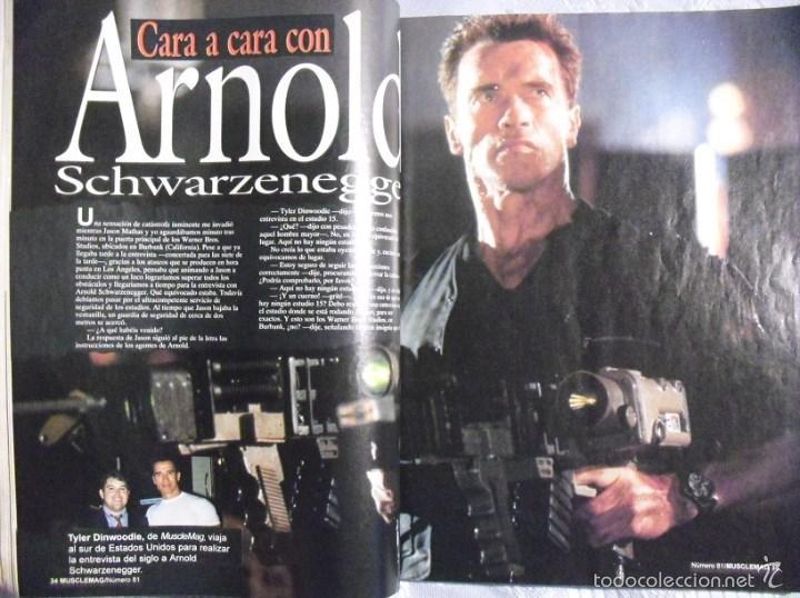 b9cefbdbf7d Coleccionismo deportivo  Revista   MuscleMag   - Especial Arnold  Schwarzenegger (1996)