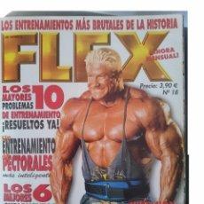 Coleccionismo deportivo: FLEX - JOE WEIDER´S -N 18 -LOS ENTRENAMIENTOS MAS BRUTALES DE LA HISTORIA -VER FOTOS -REFM1E5. Lote 58426440
