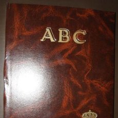Coleccionismo deportivo: ABC HISTORIA VIVA DEL REAL MADRID TAPAS Y 30 NUMEROS. Lote 58714040