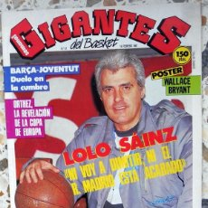 Coleccionismo deportivo: GIGANTES DEL BASKET Nº67 FEBRERO 1987 POSTER WALLACE BRYANT FC BARCELONA. BALONCESTO BASKET VINTAGE . Lote 58837166