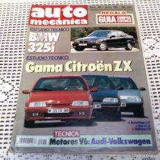 Coleccionismo deportivo: REVISTA AUTO MECÁNICA . GUIA COMPRA COCHES. 1991. Lote 59161995