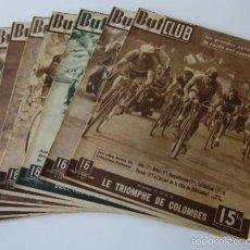 Coleccionismo deportivo: 8 REVISTAS BUT CLUB - AÑOS 1948/49. Lote 59509195