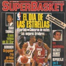 Coleccionismo deportivo: REVISTA SUPERBASKET 1ª SERIE Nº 1 MARZO 1986 CONTIENE SUPER POSTER EPI . Lote 59815720