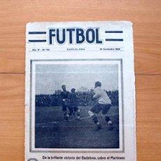 Colecionismo desportivo: FÚTBOL, Nº 154 - 20 DE NOVIEMBRE DE 1922 - REVISTA SEMANAL ILUSTRADA. Lote 60262611