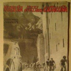 Collezionismo sportivo: GUIA OFICIAL XXXI VUELTA CICLISTA A CATALUNYA - AÑO 1951. Lote 60527443