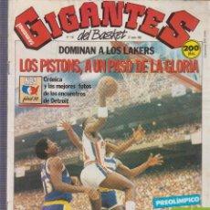 Coleccionismo deportivo: GIGANTES DEL BASKET Nº 138 POSTER DE EPI . Lote 60937707