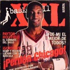 Coleccionismo deportivo: MICHAEL JORDAN & SCOTTIE PIPPEN - REVISTA ''XXL BASKET'' Nº 45 (1998) - NBA - CON PÓSTER. Lote 61040063