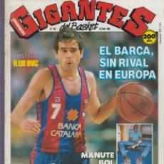 Coleccionismo deportivo: GIGANTES DEL BASKET Nº 167 ENERO 1989 - POSTER VLADO DIVAC. Lote 61130663