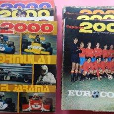 Coleccionismo deportivo: LOTE 26 REVISTA DEPORTE 2000 Nº 24-26-28-29-30-31-33-34-35-36-37-38-41-42-46-47-48-49-51-52-53-54-55. Lote 61149975