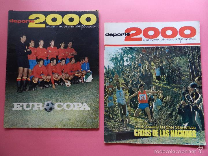 Coleccionismo deportivo: LOTE 26 REVISTA DEPORTE 2000 Nº 24-26-28-29-30-31-33-34-35-36-37-38-41-42-46-47-48-49-51-52-53-54-55 - Foto 2 - 61149975