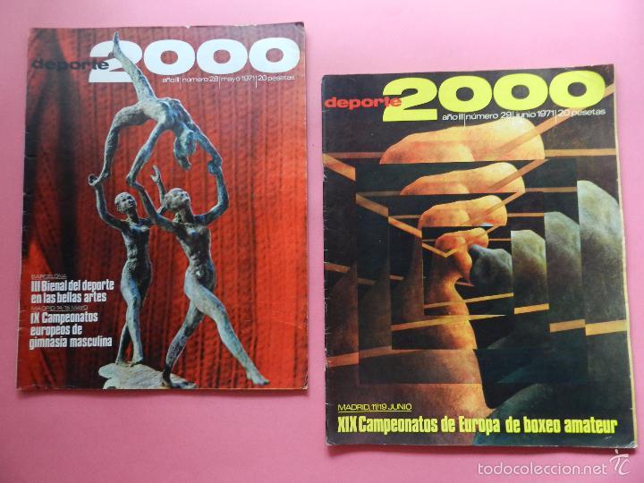 Coleccionismo deportivo: LOTE 26 REVISTA DEPORTE 2000 Nº 24-26-28-29-30-31-33-34-35-36-37-38-41-42-46-47-48-49-51-52-53-54-55 - Foto 3 - 61149975