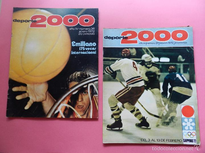 Coleccionismo deportivo: LOTE 26 REVISTA DEPORTE 2000 Nº 24-26-28-29-30-31-33-34-35-36-37-38-41-42-46-47-48-49-51-52-53-54-55 - Foto 6 - 61149975