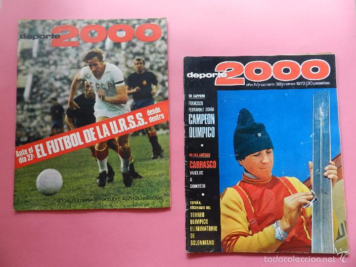 Coleccionismo deportivo: LOTE 26 REVISTA DEPORTE 2000 Nº 24-26-28-29-30-31-33-34-35-36-37-38-41-42-46-47-48-49-51-52-53-54-55 - Foto 7 - 61149975