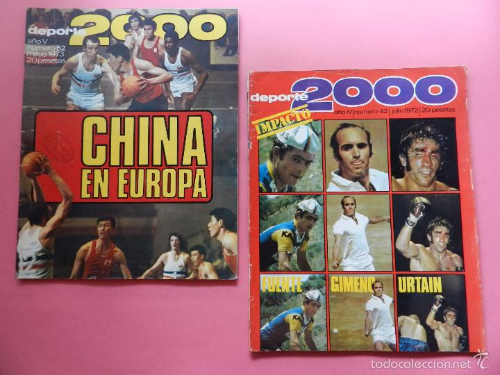 Coleccionismo deportivo: LOTE 26 REVISTA DEPORTE 2000 Nº 24-26-28-29-30-31-33-34-35-36-37-38-41-42-46-47-48-49-51-52-53-54-55 - Foto 9 - 61149975