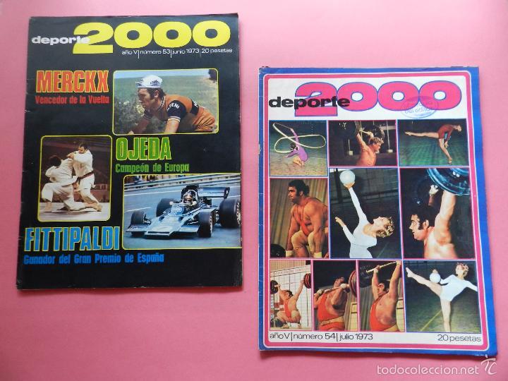 Coleccionismo deportivo: LOTE 26 REVISTA DEPORTE 2000 Nº 24-26-28-29-30-31-33-34-35-36-37-38-41-42-46-47-48-49-51-52-53-54-55 - Foto 12 - 61149975