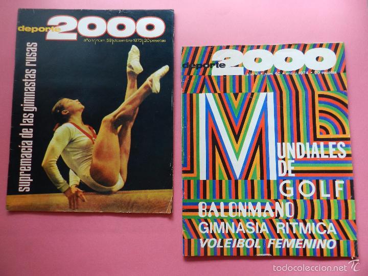 Coleccionismo deportivo: LOTE 26 REVISTA DEPORTE 2000 Nº 24-26-28-29-30-31-33-34-35-36-37-38-41-42-46-47-48-49-51-52-53-54-55 - Foto 14 - 61149975