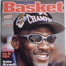 Coleccionismo deportivo: MICHAEL JORDAN & KOBE BRYANT - REVISTA ''AMERICAN BASKET'' (1997) - OPEN MCDONALD'S - NBA. Lote 51449295
