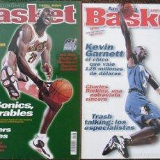 Coleccionismo deportivo: MICHAEL JORDAN & SCOTTIE PIPPEN - REVISTAS ''AMERICAN BASKET'' - NÚMEROS 6 Y 8 (1997-98) - NBA. Lote 61298891