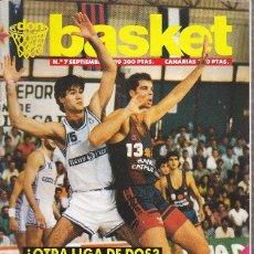 Coleccionismo deportivo: REVISTA DON BASKET Nº 7 SEPTIEMBRE 1989. Lote 61482215