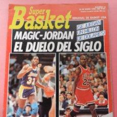 Coleccionismo deportivo: REVISTA SUPER BASKET Nº 16 1990 MAGIC JOHNSON-MICHAEL JORDAN-POSTER MARK PRICE NBA-NCAA- SUPERBASKET. Lote 61559668